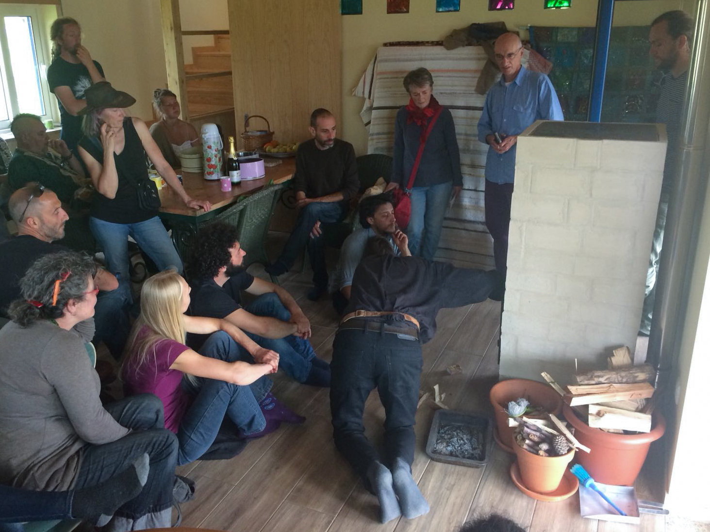 Explaining the workings of the Batch Rocket Stove